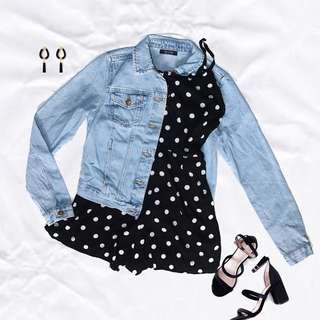 Berska Overruns Denim Jacket