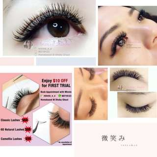 National Day Eyelash Extensions Promotion!!!
