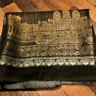🆕 Cambodia silk scarf