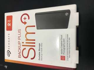 SEAGATE Backul Plus Slim 2TB external drive