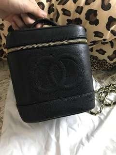 Chanel vintage bucket bag 日本中古水桶袋
