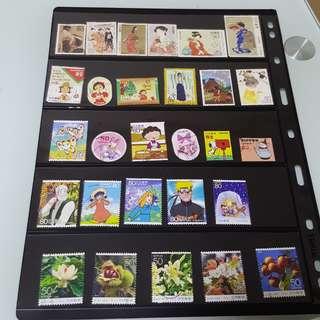 日本特色郵票