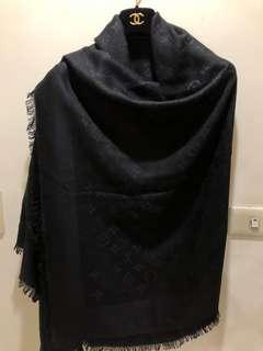 真品LV羊毛大披巾