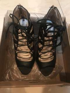 Primadonna Lace-up Heels