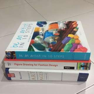 3 buku Art untuk dilepaskan