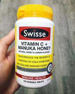 Swisse Manuka Honey and Vitamin C