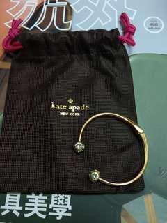 Kate Spade Bracelet。金色手鐲