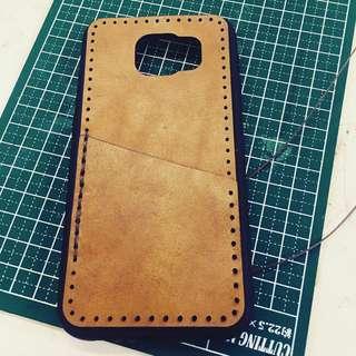 Samsung S6手機皮套(手做)