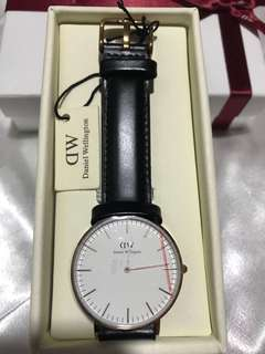 DW leather watch 36MM