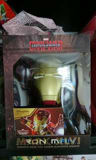 Ironman bluetooth speaker
