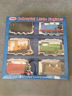 Age 6mo+ Thomas and Friends Colourful Little Engines - 6 Board Books
