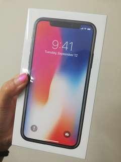[SEALED] IPHONE X 64GB