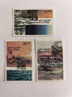 Singapore 1978 Parks and Gardens mnh
