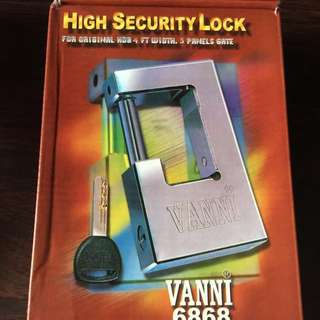 HDB gate lock VANNI 6868