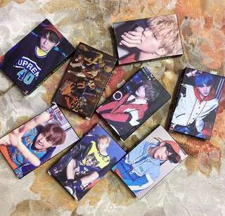 EXO/BTS Lomocard