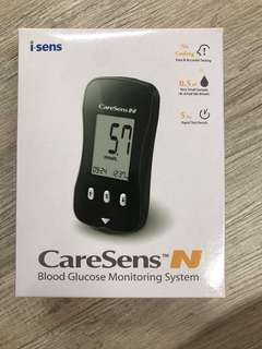 BNIB Caresens N Glucose Monitor, Exclude Test Strip