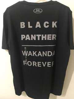 Underarmour Drifit Black Panther shirt Limited Edition