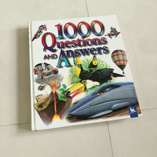 Children's 1000 questions and answers book