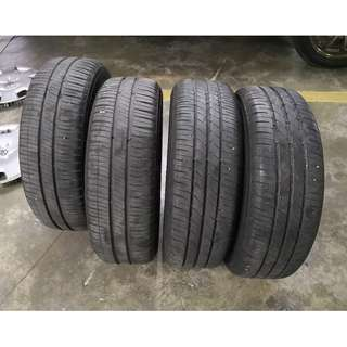 175-65-14 Tyres Michelin XM2 Toyo Nanoenergy3 + Rims + Vios Wheelcap