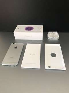 iphone 6 Silver 16 gb ex ibox indonesia