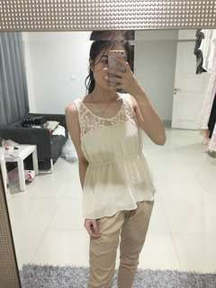 Forever 21 chiffon top