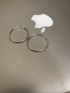 Hoop耳環