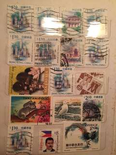 Many stamps