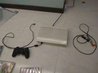 Ps3(without power cable) and games