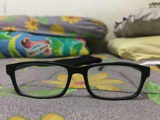 Kacamata Plus 2.5 (Frame Hitam)
