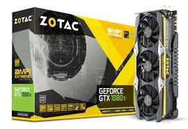 Zotac gtx 1080 ti amp extreme core edition