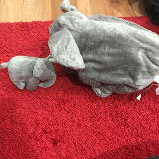 Elephant ikea soft dolls