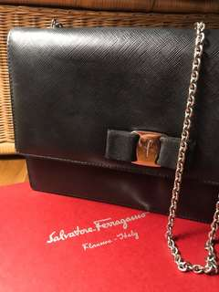 Salvatore Ferragamo Medium Vara Flap Bag
