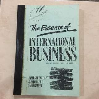 The Essence Of International Business