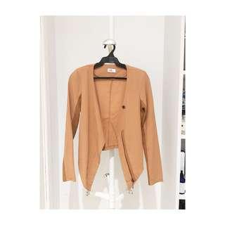 Tan blazer from HongKong