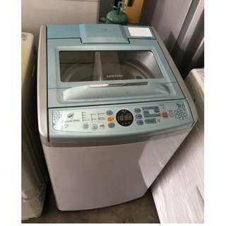 7.5kg Auto Top Samsung Washing Machine Mesin Basuh Clean Drum Load