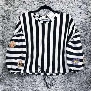 Zara Cute Stripes Top