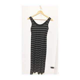 Uniqlo B&W easy dress