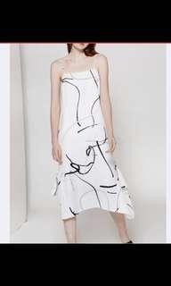 🚚 Our second nature canvas handkerchief dress XS