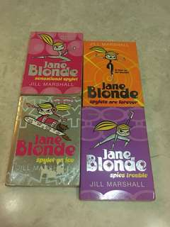 Jane Blonde Series Collection