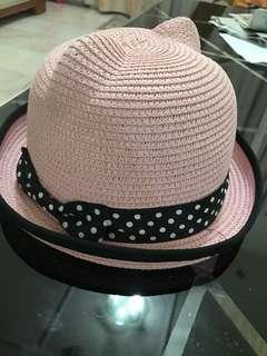 Pink cute hat
