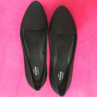 Crocs Eve Flat (Black)