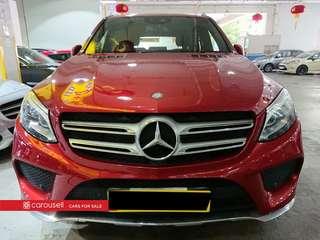 Mercedes-Benz GLE-Class GLE400 AMG Line 4MATIC