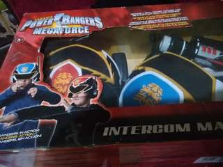 Power rangers intercom masks