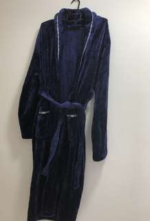 Luxurious Navy Bathrobe