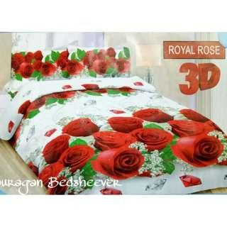 SPREI BONITA ROYAL ROSE 180X200 cm king size seprei seprai
