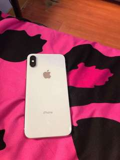 Iphone x 256gb factory unlocked with receipt and warranty