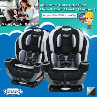 4Ever™ Extend2Fit® 3-in-1 Car Seat (Garner)