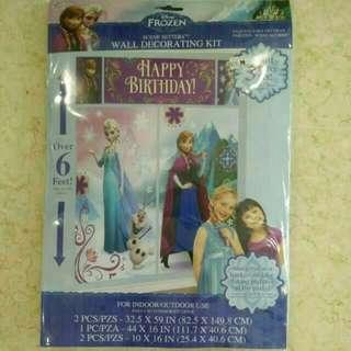 (Pre-loved) Disney Frozen Wall Decorating Kit