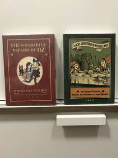 Vintage Collection planners - Wizard of oz & Alice in wonderland