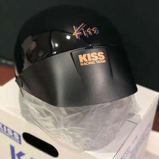 Kiss Racing Team Helmet (Brand New / Instock)_Gloss Black